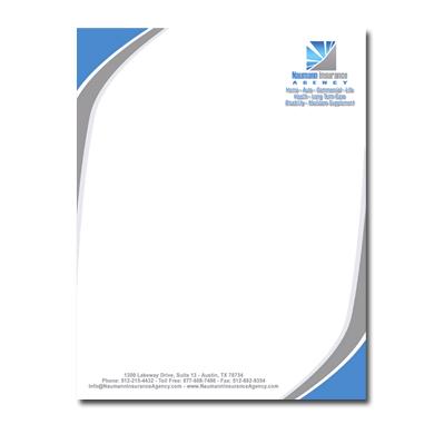 online letterhead