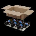 Book Wine Moving Box