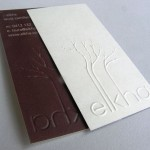 Where to look for ideas in the printing of the business cards