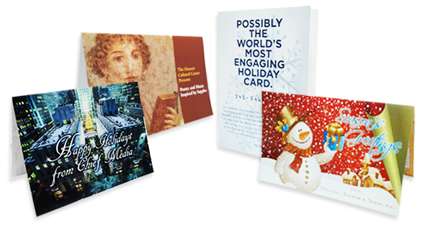 Christmas cards and calendar printing for advertising promotion