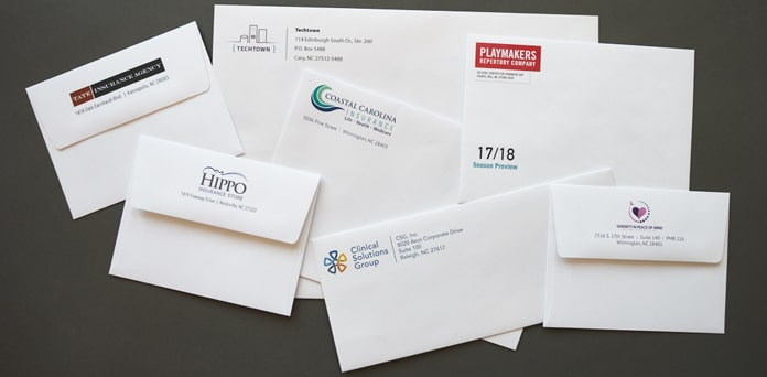 Attracting clients through envelope printing