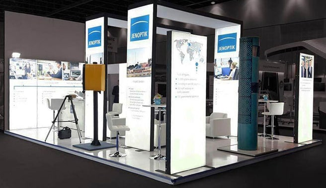 Exhibition stands for trade shows