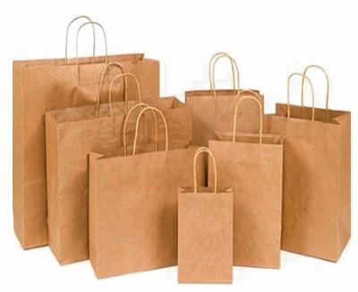 Premium Bulk Brown Kraft Paper Bags with Handles