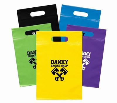 Custom Die Cut Handle Bags, Die Cut Bags with Logo
