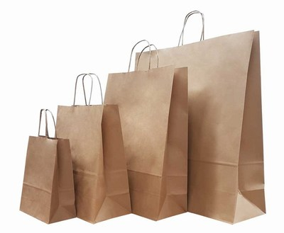 Economy Recycled Paper Bags Wholesale India