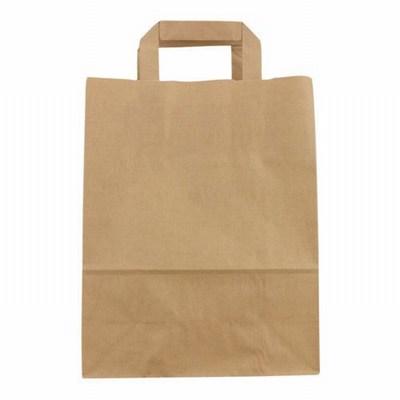 Flat Brown Paper Bags Wholesale