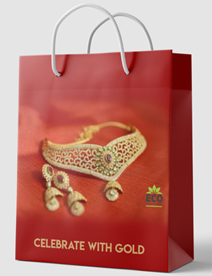 Jewelry paper bags with Handle wholesale
