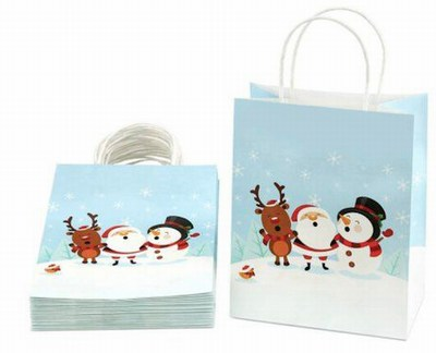 paper holiday retail shopping bags wholesale