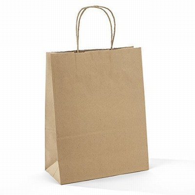 Recycled Kraft Paper Bags with Handles