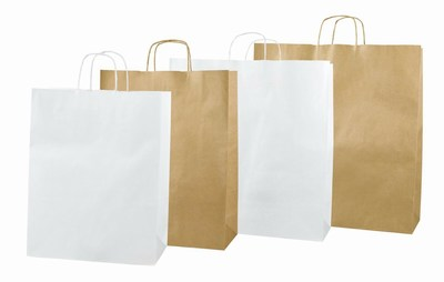 Twisted Handle Paper Bags Manufacturer India