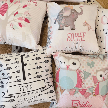 Personalised Kids Cushions, Pillows & Pillowcases India