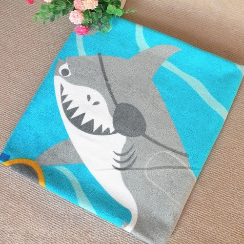 Kids Personalized Beach Towels, Monogrammed Beach Towel, Swimming Towels