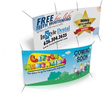 Custom 10 oz Vinyl Banner Printing and Design