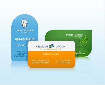 custom Business cards, business cards printing India