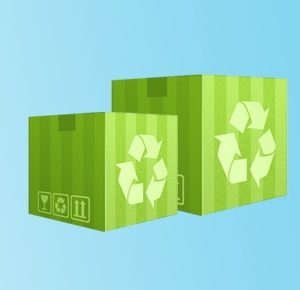 Eco-Friendly Recycled Green Boxes India