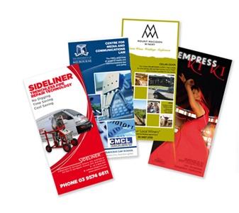 Flyer Printing, Custom Printed Flyers India