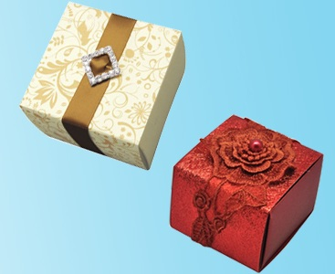 Wedding Favour Boxes, Bomboniere Boxes Packaging India