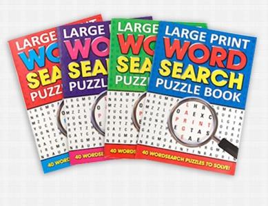 Custom Word Search Books Printing