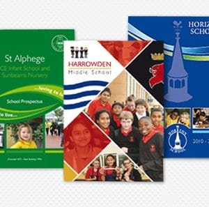 College, University and High School View Books Print